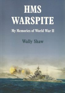 HMS Warspite by Wally Shaw