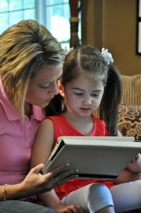 Children Reading E-books More